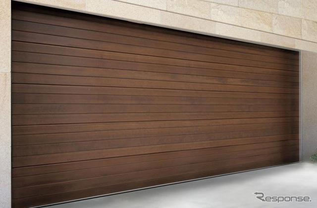 三和シヤッター 木製ガレージドア ゼクラライト