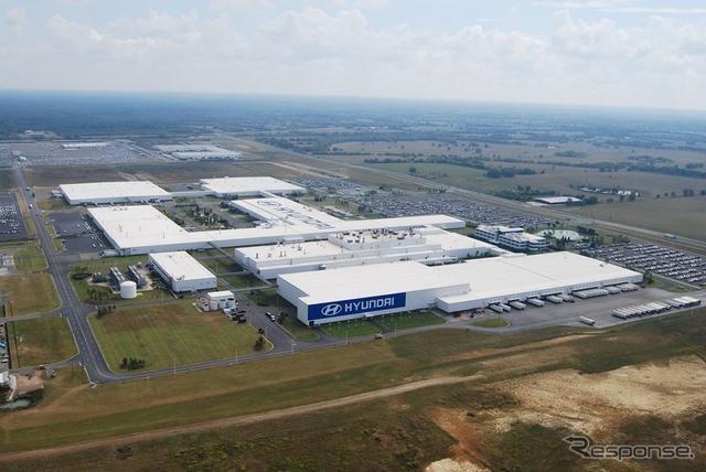 ヒュンダイの米アラバマ工場