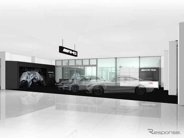メルセデスベンツ長野の AMG パフォーマンスセンター(イメージ)