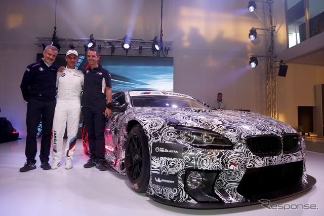 BMW M6 GT3 の開発プロトタイプ車