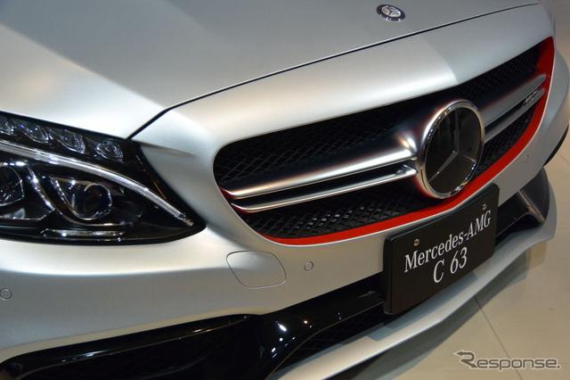 メルセデス AMG C63 発表会《撮影 小松哲也》
