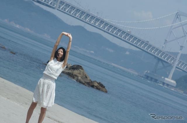 【初夏ドライブ】ご当地ドライブ総選挙、1位は徳島…美女イチオシのコースを走る