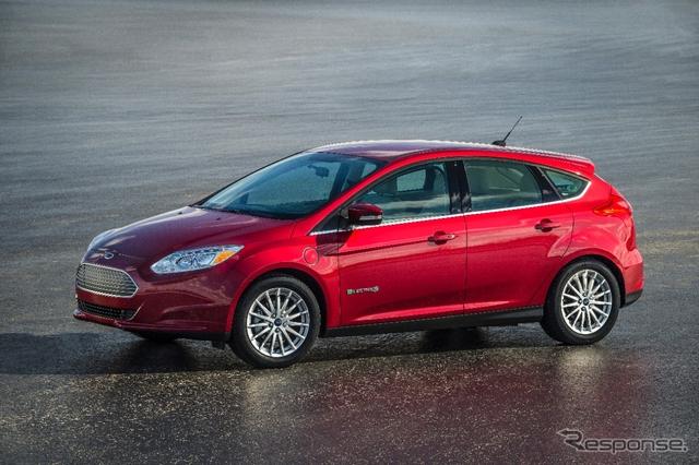 フォード フォーカス エレクトリック の2015年モデル