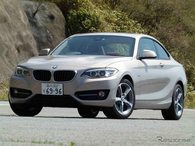 BMW 220i Sport《撮影 島崎七生人》