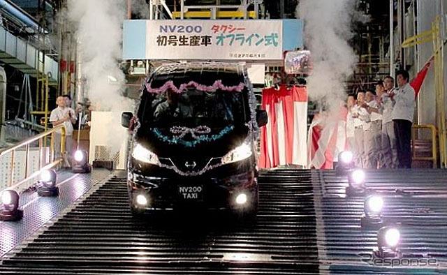 日産 NV200タクシー オフライン式
