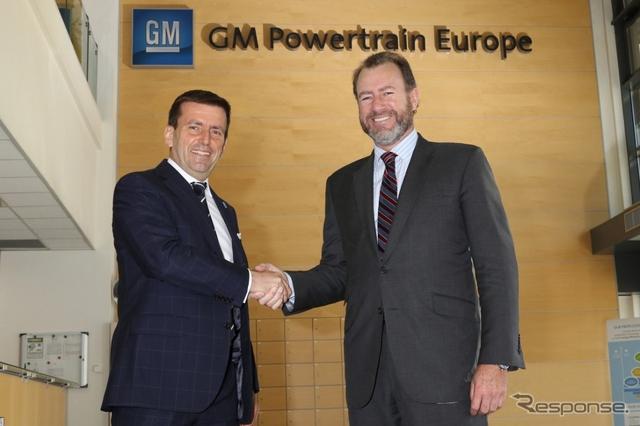 イタリア・トリノのGMパワートレイン・ヨーロッパを訪問したGMのダン・アンマン社長