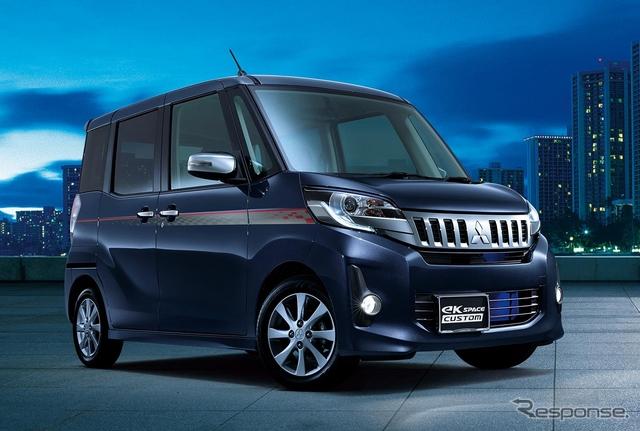 三菱 eKスペース/eKスペースカスタム 改良新型向け純正アクセサリー装着車