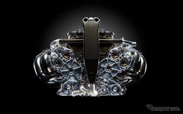 コスワース製エンジン(参考画像)