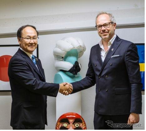 日本プラストがホーブディングと提携して自転車用エアバッグに参入