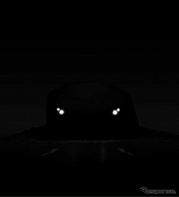 ロータスカーズの新型スポーツカーの予告イメージ