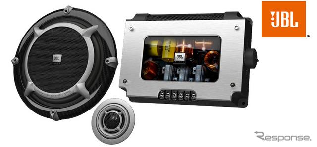 アフターマーケット向け車載スピーカー「670GTi」出典:HARMAN