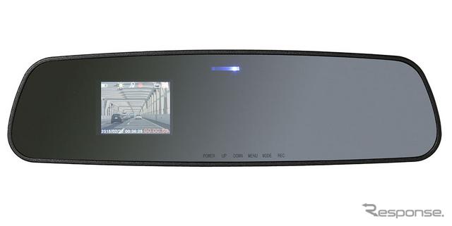 イーバランス ミラー型ドライブレコーダー X-STYLE EB-XS004D