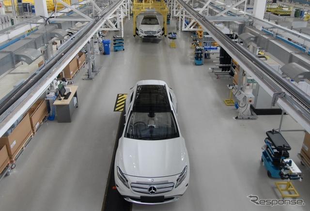 インドで生産が開始されたメルセデスベンツ GLA