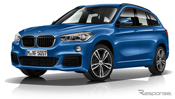 BMW X1 新型のMスポーツ