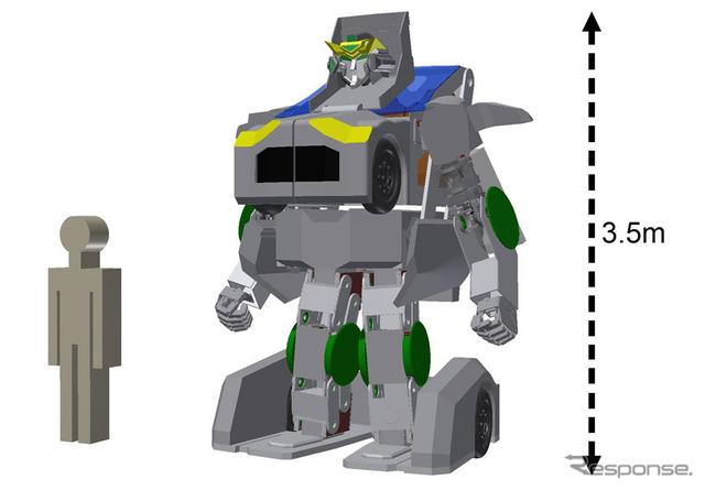 J-deite RIDE(ロボットモード)