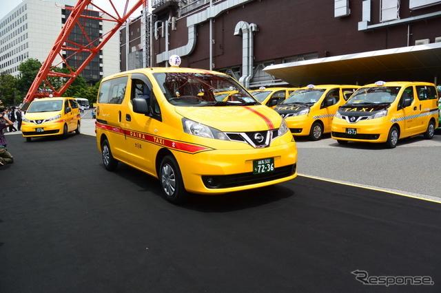 日産自動車 NV200タクシー《撮影 小松哲也》