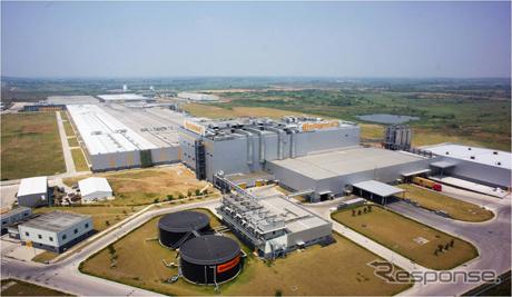 コンチネンタルの中国の合肥タイヤ工場