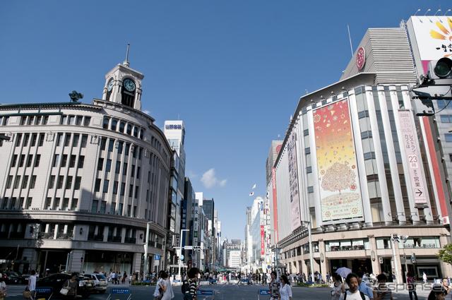 東京・銀座《画像 Getty Images》