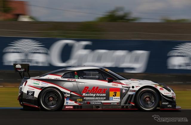 優勝した#3 GT-R。撮影:益田和久(予選日)