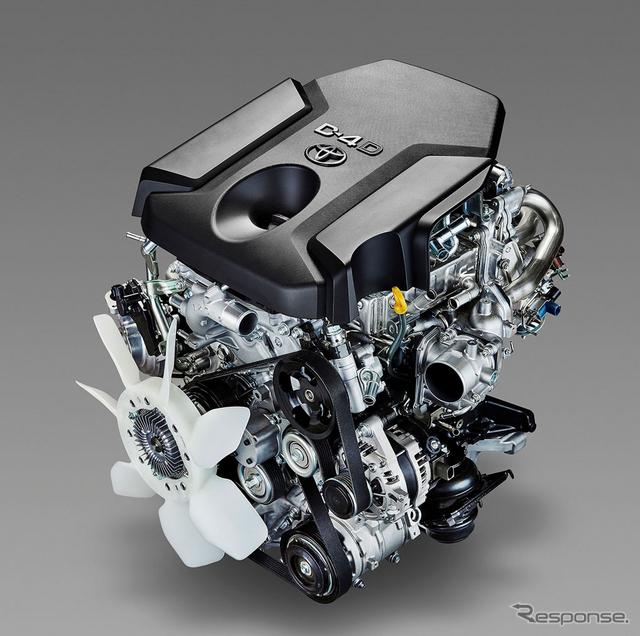新型2.8L直噴ターボディーゼルエンジン 1GD-FTV