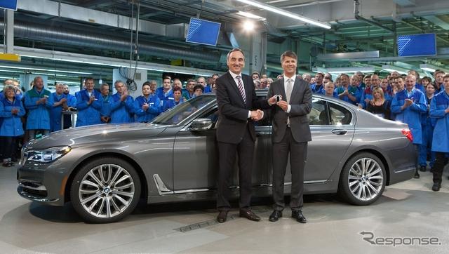 BMWのドイツ・ディンゴルフィング工場において生産が開始された新型7シリーズ