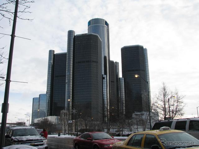 GMの本社ビル