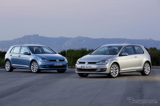 VW ゴルフ(参考画像)