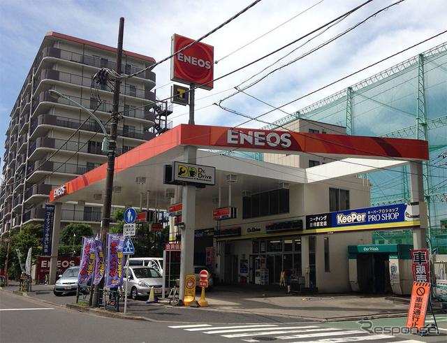 ガソリンスタンド内にオープンするレンタル819 大島駅前
