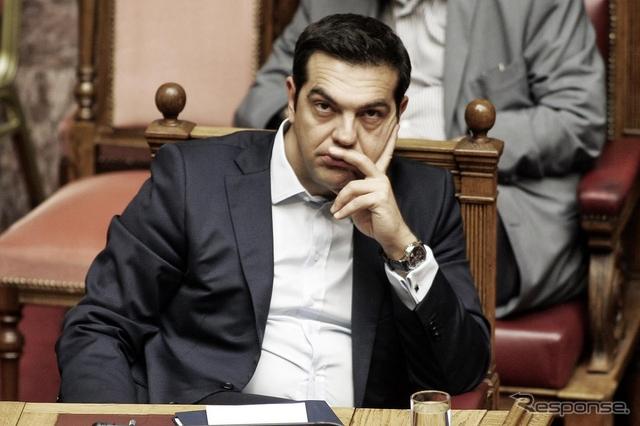 ギリシャ、アレクシス・ツィプラス首相(27日)《写真 GettyImages》