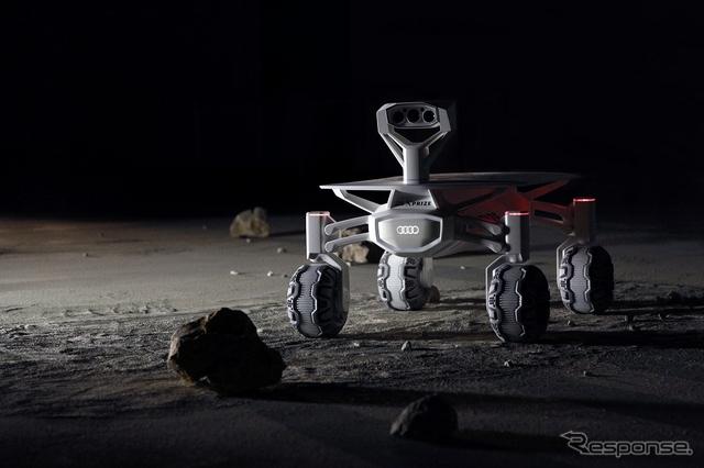 アウディの月面探査車(イメージ)