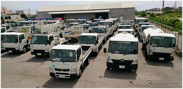 オリックスレンタカーうるま石川店の配備予定車両