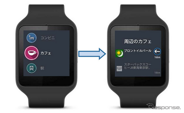 いつも NAVI for Android Wearβ