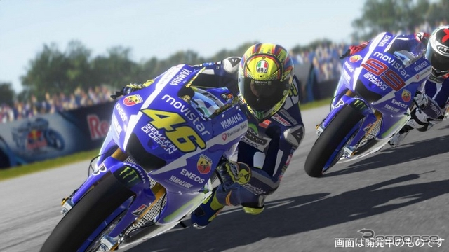 MotoGP 2015MotoGP 15(c) 2015 Published and Developed by Milestone S.r.l. All rights reserved.Copyright(c)2015 Dorna Sports S.L. - All rights reserved.Licensed and published in Japan by Intergrow Inc.