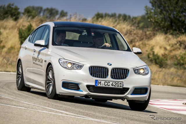 BMW5シリーズGTの燃料電池プロトタイプ車