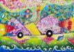 7歳以下の部・金賞「アルファバード・カー 〜世界共通語カー〜」。異なる言語でもアイデアを共有できる自動車