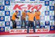 """2015もてぎKART耐久フェスティバル""""K-TAI"""" 最多周回数賞を獲得したTeamKRS-DAI&MKS《撮影 大島康広》"""