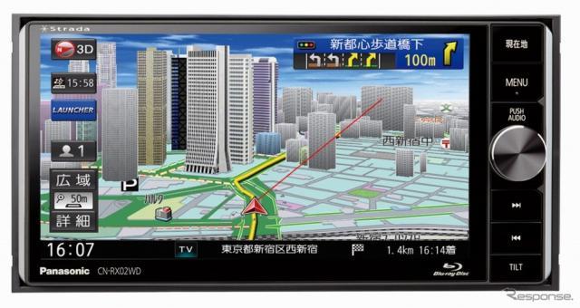 ストラーダ 美優Navi CN-RX02WD