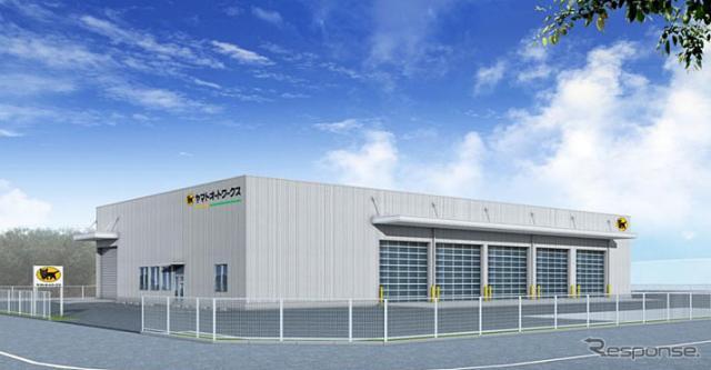 スーパーワークス神戸工場(完成予想図)