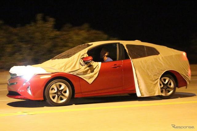 トヨタ プリウス 新型のスクープ写真《Photo : Brian Williams/SpiedBilde》