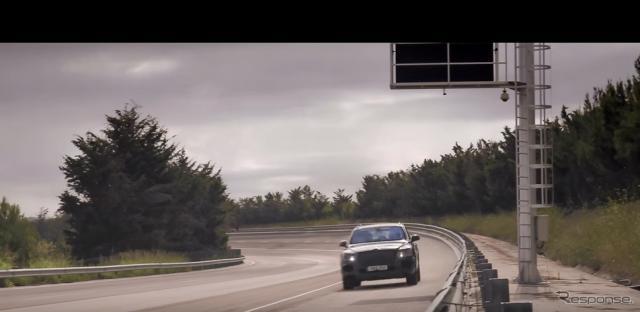ベントレーのSUV、ベンテイガの開発プロトタイプ車が高速テスト