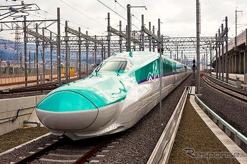 北海道新幹線の新型車両H5系写真提供:北海道旅客鉄道株式会社