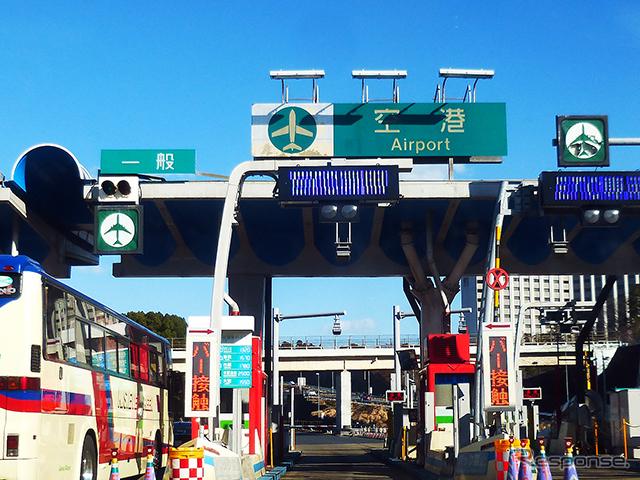 成田空港へのアクセスルート、新空港自動車道《撮影 大野雅人(Gazin Airlines)》