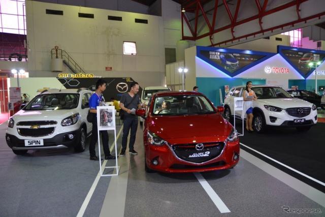 インドネシア国際モーターショー(IIMS)2015《撮影 鈴木ケンイチ》