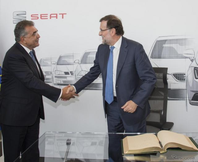 スペインへの投資を発表したセアト