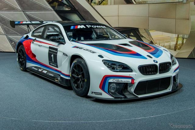 BMW M6 GT3(フランクフルトモーターショー15)《撮影 太宰吉崇》
