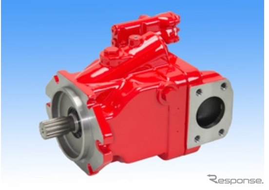 ロードセンシング用油圧ポンプ「K3VLSシリーズ」《画像 川崎重工業》