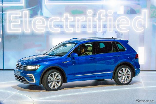 VW ティグアン GTE《撮影 太宰吉崇》