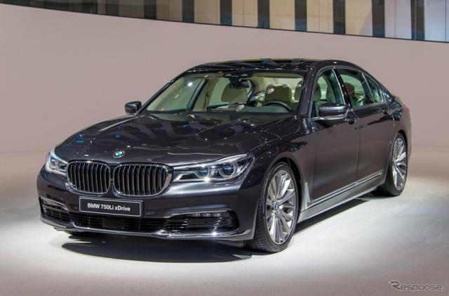 BMW 7シリーズ 新型(フランクフルトモーターショー15)《撮影 太宰吉崇》