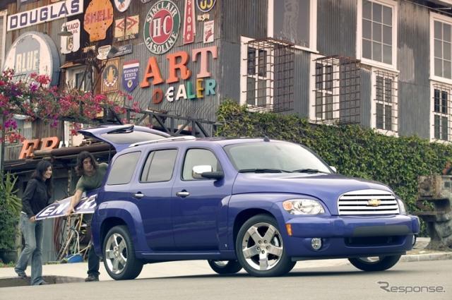 アメリカ仕様の2009年型モデル「シボレーHHR」
