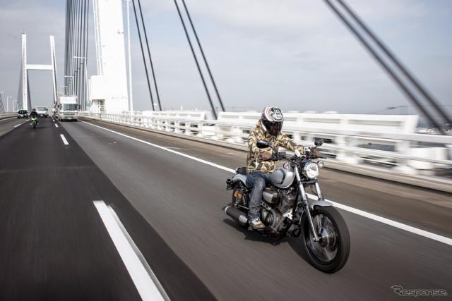 バイクでのツーリング(イメージ)《撮影 太宰吉崇》
